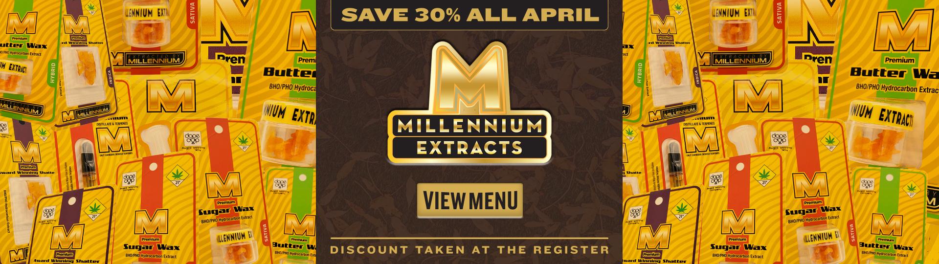 Millennium extracts