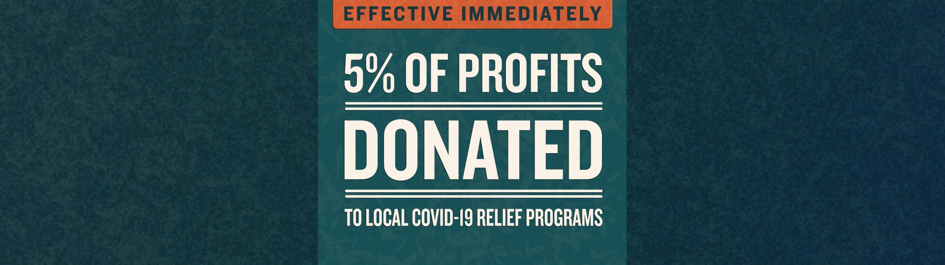 Covid donations