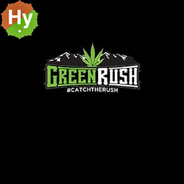 Green rush logo
