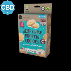 CBD 1:1 Hemp Crisp Protein Cookies