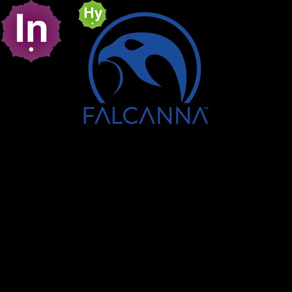 Falcanna logo blue 1000