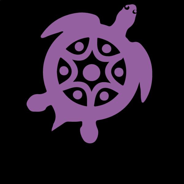 Purple turtle1