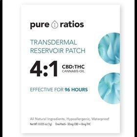 Pure Ratios 4:1 Transdermal Patch