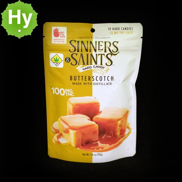 Butterscotch sinners   saints hard candy