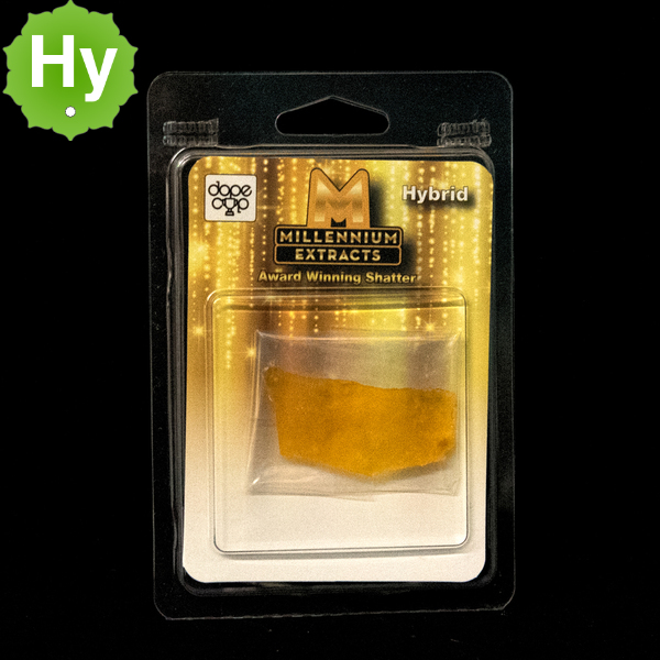 Millennium extracts shatter