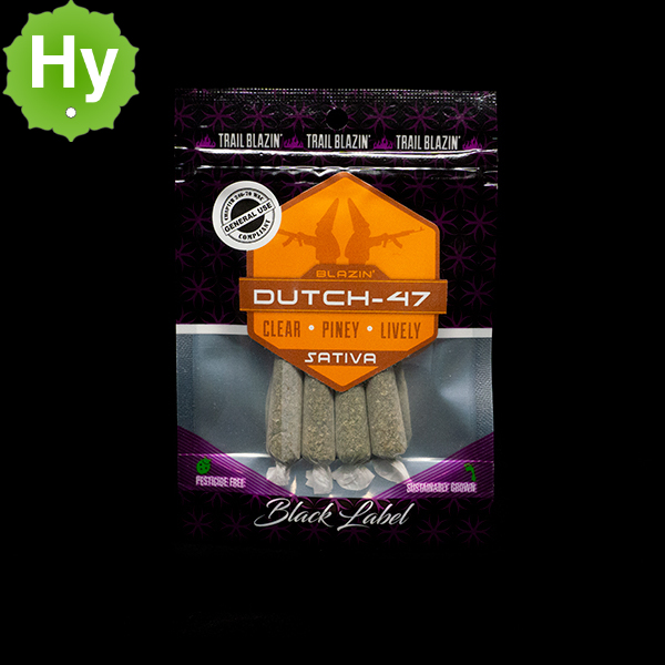 Trail blazin dutch 47 prerolls 4pk