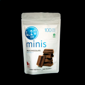 4.20 Milk Chocolate Minis 100mg