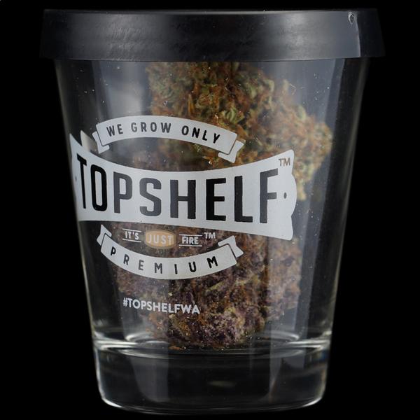 Top shelf dub shot glass