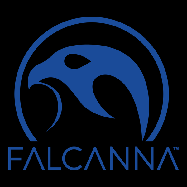 Falcanna logo blue 1000
