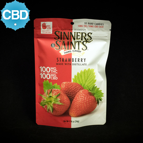 Strawberry CBD Hard Candy