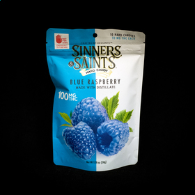 Blue Raspberry Sinners & Saints Hard Candy