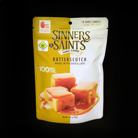 Butterscotch Sinners & Saints Hard Candy