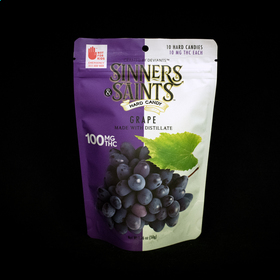 Grape Sinners & Saints Hard Candy