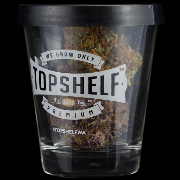 Top shelf dub shot glass