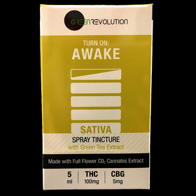 Awake, Sativa Spray Tincture
