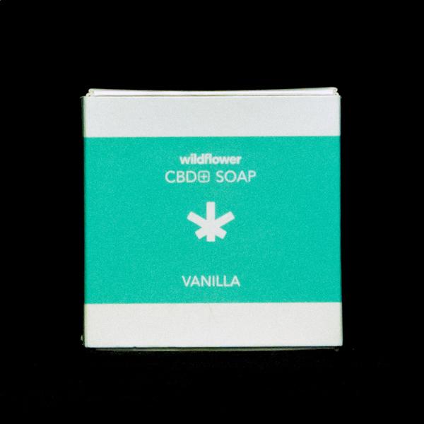 Wildflower cbd soap