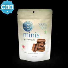 4.20 Milk Chocolate Minis 10:1 CBD:THC