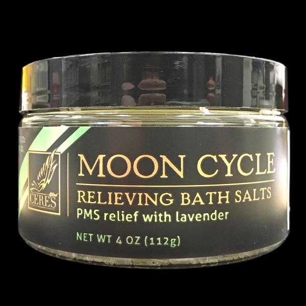 Ceres moon cycle bath salts