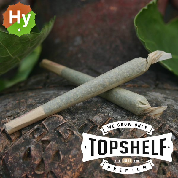 Top shelf pre roll joints sativa hybrid