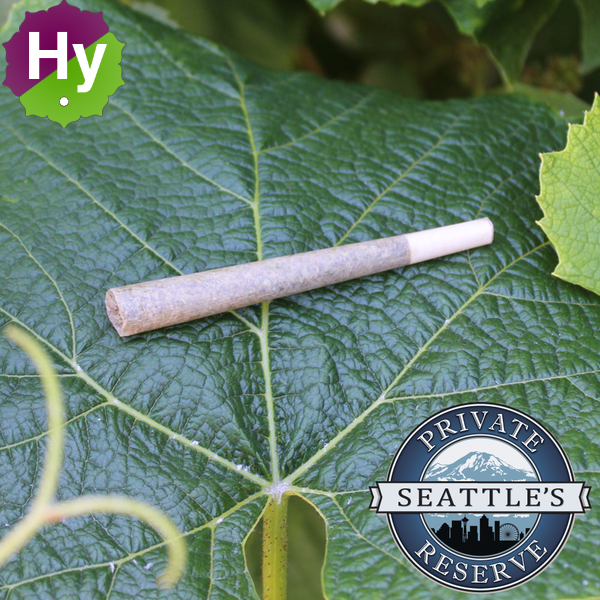 Seattles private reserve pre roll joints