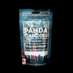 Sour Blue Raspberry Hard Candies