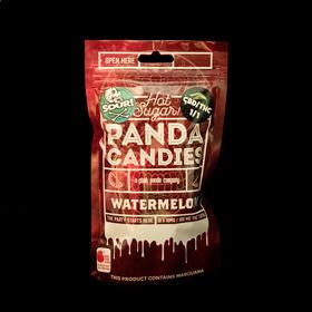 CBD 1:1 Sour Watermelon Hard Candies