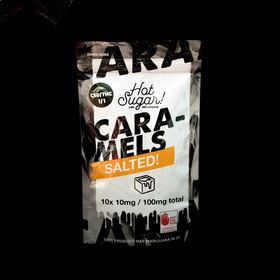CBD Salted Caramels