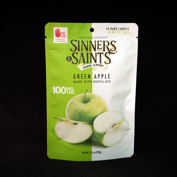 Sinners   saints green apple
