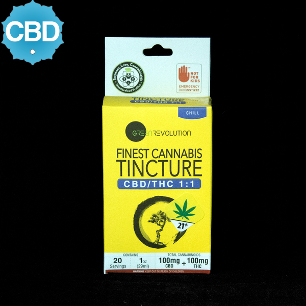 Green revolution cbd thc 1 to 1