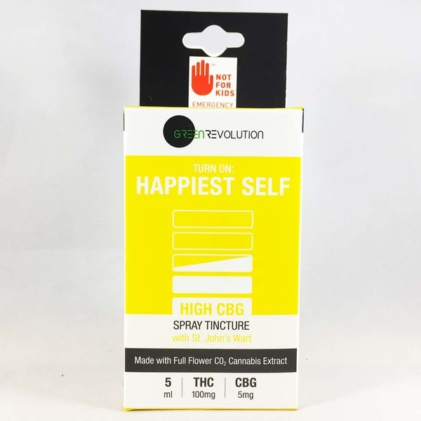 Green revolution happiest self tincture