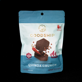 Spicy Quinoa Crunch Tokens