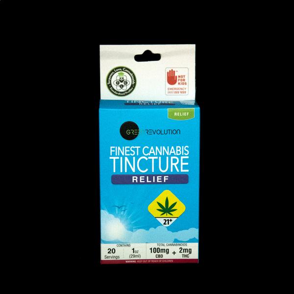 Green revolution relief tincture