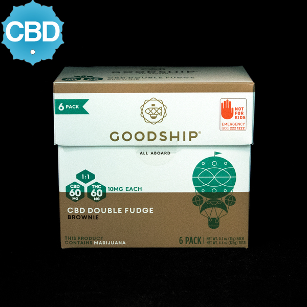 Goodship cbd double fudge