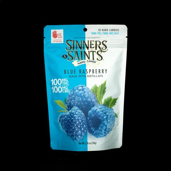 Sinners   saints blue raspberry
