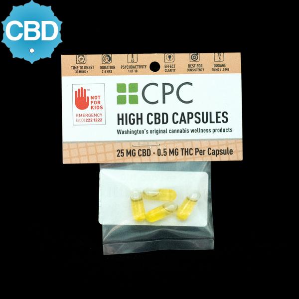 Cpc high cbd capsules