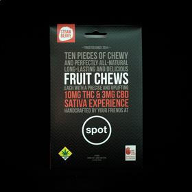 Strawberry Sativa Fruit Chews