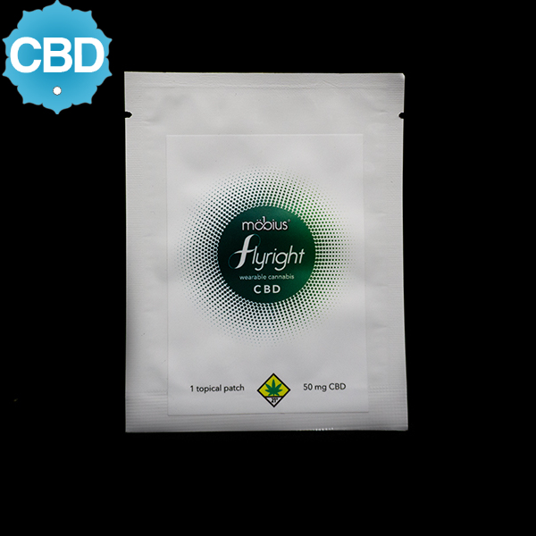 Mobius flyright cbd topical patch 50 1
