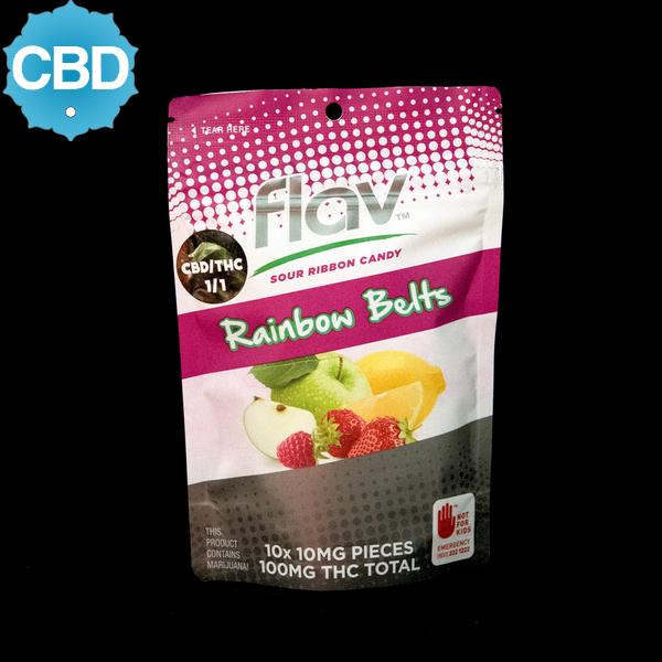Flav rainbow belts