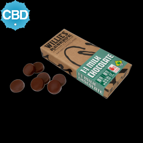 CBD 1:1 Milk Chocolate